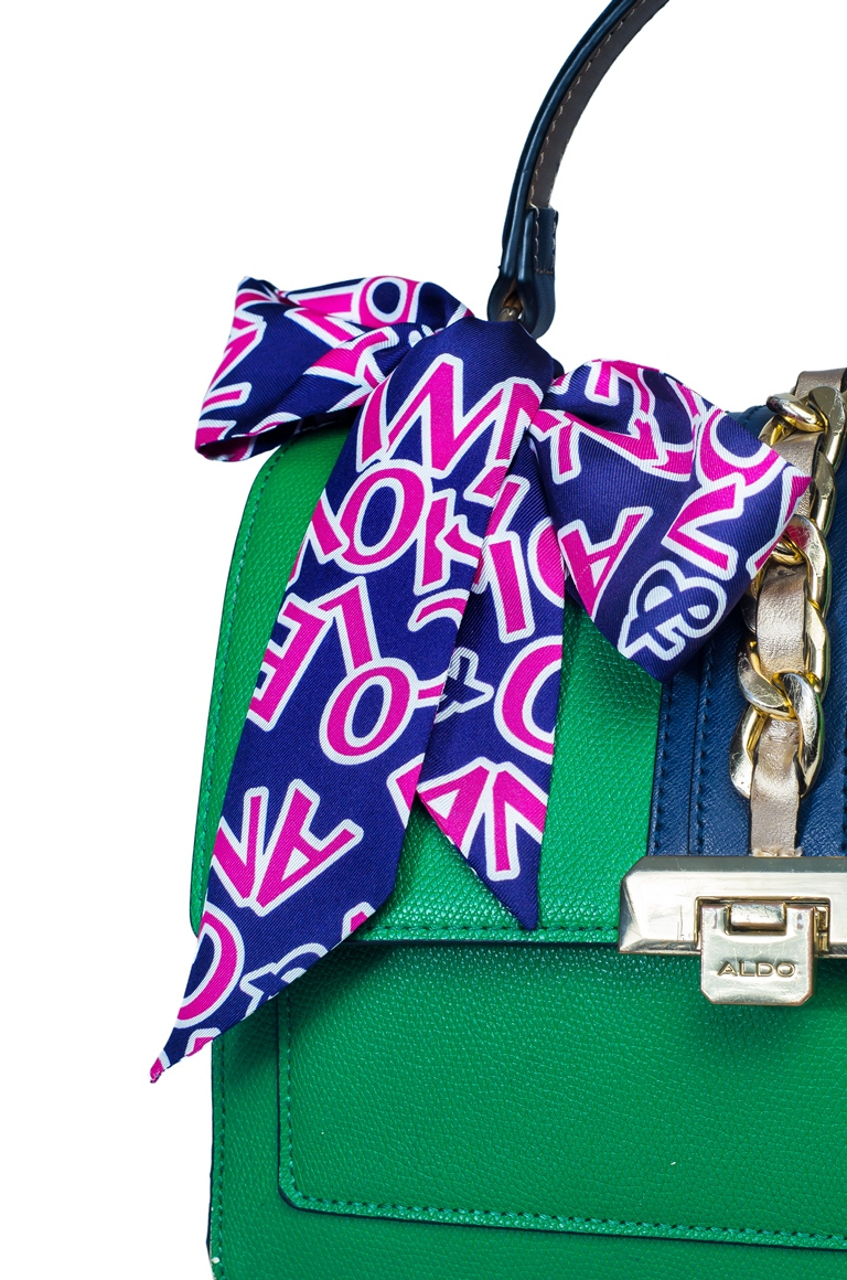 N&G Silk Bag Scarf - Dumebi