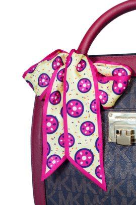 N&G Silk Bag Scarf - Oluchi