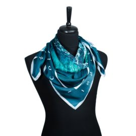 N&G Silk Scarf - Aize - Nicole and Giovanni